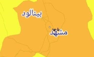 تداوم  محدودیتها و ممنوعیت تردد شبانه در وضعیت نارنجی مشهد