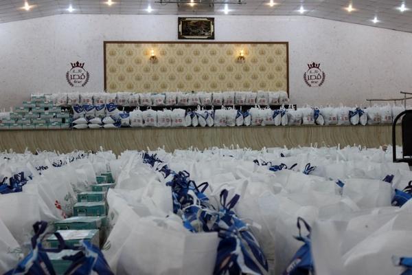 توزیع ۵ هزار بسته معیشتی در شهرستان های خواف و رشتخوار