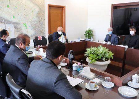 جلسه مشترک مدیران سازمان همیاری و رئیس شواری مشهد