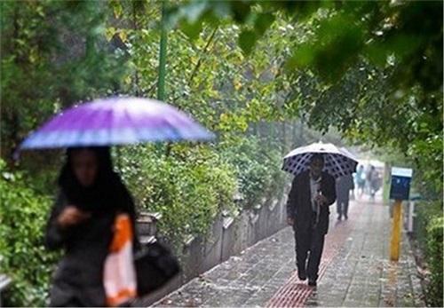 از امروزآسمان خراسان رضوی بارانی است