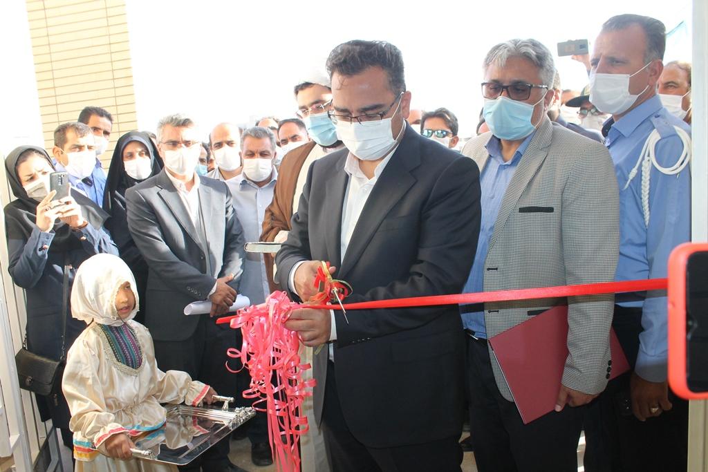 کتابخانه عمومی شهر جدید بینالود افتتاح شد