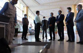 بازدید معاون استاندار از راه آهن، فرودگاه و پایانه مسافربری مشهد